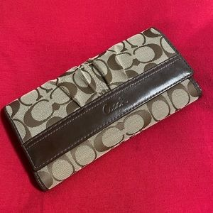 Coach pattern wallet